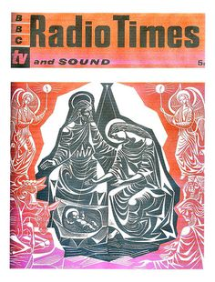 Radio Times Cover 1960 Eric Fraser