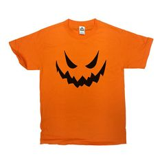 Scary Pumpkin Face T-Shirt - Great and Simple Halloween Costume!  Love this…