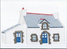 Image - Dentelle : ma petite maison bretonne (suite 7) - Blog de myriam-dentelle - Skyrock.com Lace Heart, Lace Jewelry, Lace Making, Bobbin Lace, Lace Detail, Monuments, Holiday Decor, Building, Blog
