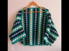 Tutorial Crochet Chaqueta ganchillo paso a paso en español - YouTube