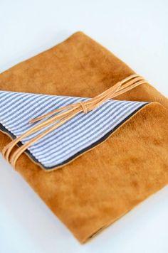DIY Leather iPad Wrap - DIY Crafts