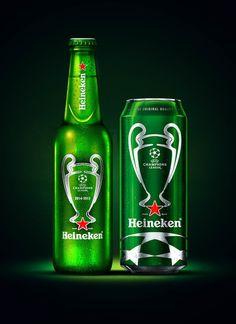 #Heineken crea un extraordinario packaging especial para la #ChampionsLeague