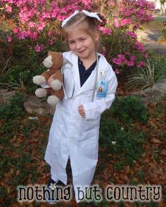 diy+vet+costume | Veterinarian – Career Day Idea