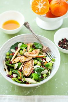 HEALTHY SALADS on Pinterest | Salmon Salad, Salads and Vinaigrette