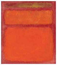 MARK ROTHKO (1903-1970)  Orange, Red, Yellow