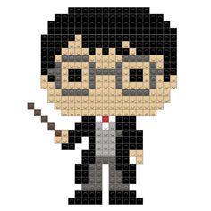 Harry Potter – BRIK Theme Harry Potter, Lego Harry Potter, Harry Potter Hogwarts, Counted Cross Stitch Patterns, Cross Stitch Embroidery, Hamma Beads Ideas, Modele Pixel Art, Pearl Beads Pattern, Plastic Canvas Coasters
