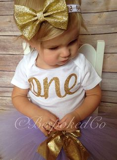 Hey, I found this really awesome Etsy listing at https://www.etsy.com/listing/243434799/light-purple-and-gold-1st-birthday