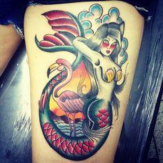 My tattoo done by Liwuan at Goodfellas Tattoo, Brasília-DF.