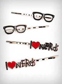 Wearing glasses doesn't make you a nerd, and you don't <3 nerds so F off already.