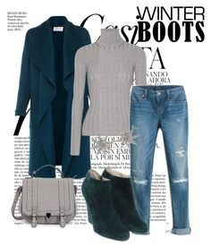 """""""Winter boots"""" by eldinarr ❤ liked on Polyvore featuring Whiteley, L.K.Bennett, Acne Studios, White House Black Market, Christian Louboutin and Bee Goddess"""