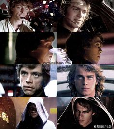 Star Wars / Anakin / Luke