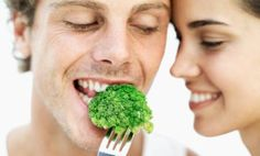 Stress Free Food! Eat broccoli and low-fat ranch dip. Broccoli has folic acid, which aids stress reduction.