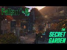 Fallout 4 'Secret Garden' Hangman's Alley Settlement - YouTube
