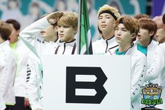 """[Picture] BTS at 2016 """"Idol Star Athletics Championships"""" Chuseok Special part…"""
