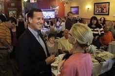 46 #prezpix #prezpixrs election 2012 candidate: Rick Santorum publication: abc news photographer: AP Photo publication date: 3/16/12