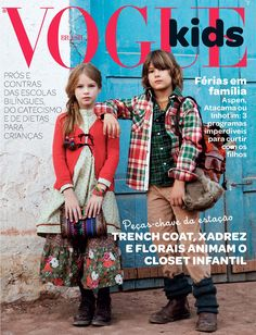Vogue Kids Brasil  #VogueKids #VogueBrasil #magazinecover