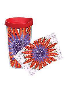Tervis® Flower Burst Red