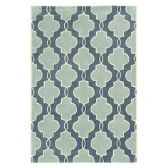 Trio Collection Rug - Monaco - Blue