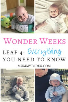 Leap The Wonder Weeks Mental Leap at 4 Months Old 4 Month Old Baby Activities, Infant Activities, 6 Weeks Old Baby, 4 Month Old Schedule, Moms On Call, Wonder Weeks, Mom Survival Kit, Baby Whisperer, Tired Mom
