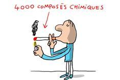 Qu'y a-t-il dans la cigarette ? French Class, France, Family Guy, The Unit, Fictional Characters, Recherche Google, Nutrition, Children, Spelling