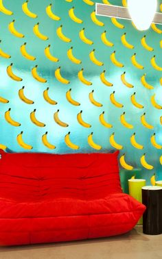 If you go bananas for bananas, then you might want to check out the unusual wallpaper created byFlavor Paper in collaboration withMichael Angelo of Wonderland Beauty Parlor. It features…
