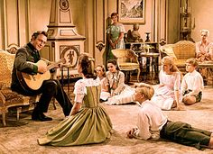 The Sound of Music (1965) Captain sings Edelweiss.  I love singing this song to my children...