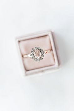 Oval blush ring
