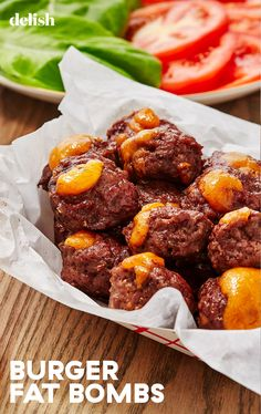 Going Low-Carb Is Easy Thanks To Keto Burger Fat Bombs - lotte Ketogenic Recipes, Low Carb Recipes, Diet Recipes, Healthy Recipes, Lunch Recipes, Smoothie Recipes, Healthy Foods, Soup Recipes, Vegetarian Recipes