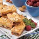 Swedish Raspberry Almond Bars Recipe | Taste of Home Recipes