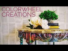 Fiesta Carnival Color Wash - A How to with UNiCORN SPiT - YouTube Color Blending, Remodeling Ideas, Rainbow Colors, Unicorn, Carnival, Outdoor Decor, Youtube, Crafts, Home Decor