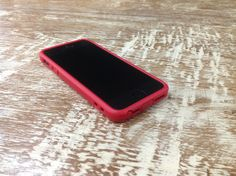Sumajin's case for the iPhone5 in red. www.sumajin.com . Find out more follow us Facebook.com/SumajinFans.