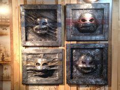 Truax Designs: Karbon Kast Ninja Turtles.