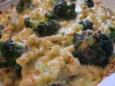 A delicious leek and cheese sauce binds broccoli and pasta in this simple and delicious pasta bake. An easy, quick and filling vegetarian family dinner.