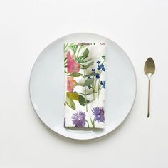 Isolation Garden Set of 2 Napkins - Bluebellgray Bluebellgray, Garden Table, Daffodils, Simple Way, Table Runners, Poppies, Daisy, Napkins, Joyful