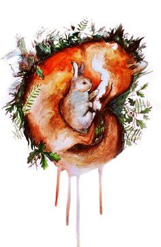 Fox and Rabbit on Behance
