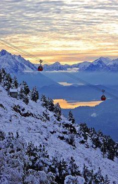 The cable-car to Cerro Otto in Bariloche, Argentina | by Don César