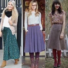 Cute skirts! #Fallinlove #pioneercloset