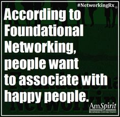 #NetworkingRx: What puts you in a good mood?