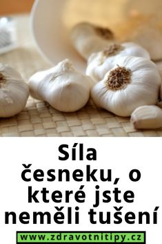 Garlic, Vegetables, Health, Food, Health Care, Essen, Vegetable Recipes, Meals, Yemek