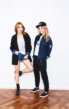 Bora and Hyorin