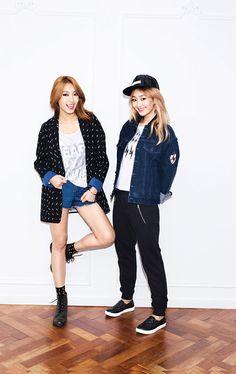 Bora and Hyorin