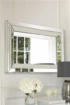 Buy The Collection Mirror from the Next UK online shop Downstairs Toilet, Color Palate, Interior Design Tips, Dining Area, Future House, Home Accessories, New Homes, Home And Garden, Flooring