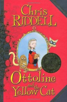 Ottoline and the Yellow Cat by Chris Riddell http://www.amazon.co.uk/dp/1405050578/ref=cm_sw_r_pi_dp_Qxo-ub0FAWFJ9