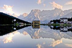 Postcard from Misurina Lake, Dolomiti, Italy