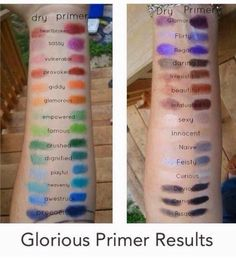Mineral eye pigment swatches. Message me for details on how to get yours!
