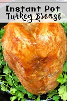 Are you looking for a way to streamline Thanksgiving dinner? Here are the easy instructions for How to Make a Frozen Turkey Breast in an Instant Pot.