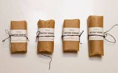 How to wrap Compound Butter -Look. is a webzine that combines food + art + design. Flavored Butter, Homemade Butter, Food Packaging Design, Packaging Design Inspiration, Bread Packaging, Coffee Packaging, Bottle Packaging, Compound Butter, Sustainable Food