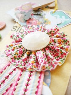 Cupcake Couture: Mother's Day DIY Rosette Tutorial