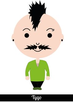 Nr. 17 Tygo Movember - Every day in #Movember a new moustache!