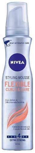 Prezzi e Sconti: #Styling mousse flexible curls 150 ml  ad Euro 3.90 in #Nivea #Capelli styling mousse
